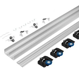 Комплект фурнитуры для 3-х раздвижных дверей Alfa 2400 мм