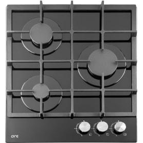 Варочная панель газовая ORE LGS45GB 3 конфорки, 44x50 см,  цвет чёрный