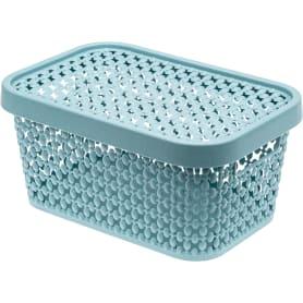 Корзинка для хранения «Пирула» 4.5 л цвет синий