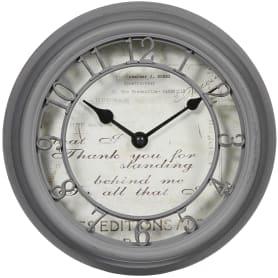 Часы настенные «Romance» 21.5 см цвет серый