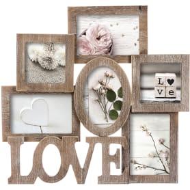 Фоторамка для 6-ти фотографий «Love»