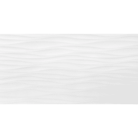 Плитка настенная «Фрост» 3D 29.5х59.5 см 1.08 м² цвет белый матовый