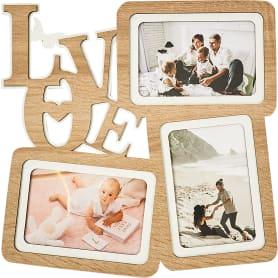 Фотосет Love, 3 фото, размер фото 10x15 см, цвет дуб