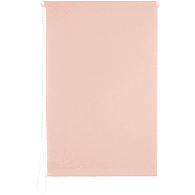 Штора рулонная 60х160 см цвет розовый