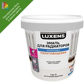 Эмаль для радиаторов Luxens прозрачная база C 1 кг