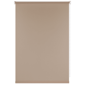 Штора рулонная Plain, 55x160 см, цвет бежевый