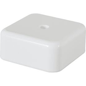 Коробка распределительная 50x50x20 мм цвет белый, IP20