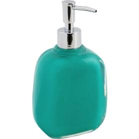 Дозатор  для жидкого мыла Brilliante цвет зелёный/бирюзовый