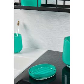 Мыльница Brilliante полирезин цвет зелёный/бирюзовый