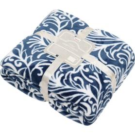 Плед «Орфей» 200x220 см микрофибра цвет синий