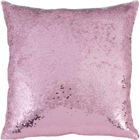 Подушка c пайетками «Diva» 40x40 см цвет розовый