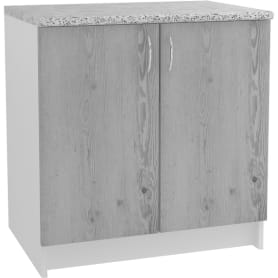 """Шкаф напольный """"Сосна выбеленная"""" 80x86x60 см, ЛДСП, цвет сосна выбеленная"""