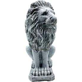 Садовая фигура «Лев смотрит влево» высота 52 см