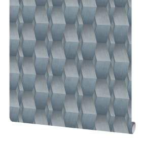 Обои флизелиновые Erismann Fashion for walls синие 1.06 м 12036-08