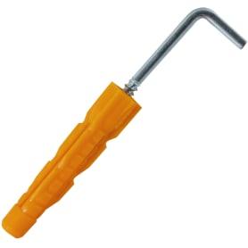 Дюбель-костыль универсальный, 6x37 мм, полипропилен, 2 шт.