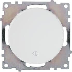 Выключатель проходной встраиваемый Onekey Florence 1 клавиша, цвет белый