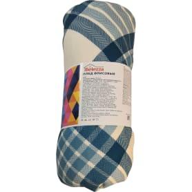 Плед Basic 130x170 см флис цвет бирюзовый