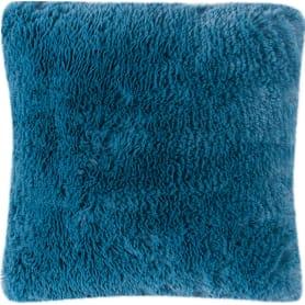 Подушка «Мех» 40x40 см цвет синий