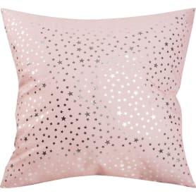 Подушка «Звёзды» 40х40 см цвет розовый