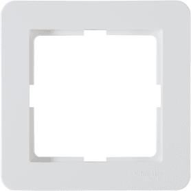 Рамка для розеток и выключателей Schneider Electric W59 Deco 1 пост, цвет белый