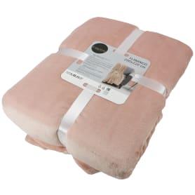 Плед Flamingo 200x220 см микрофибра цвет розовый