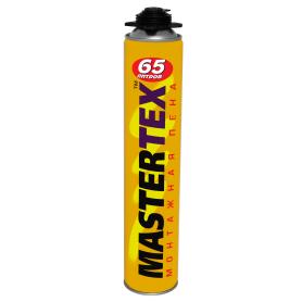 Пена монтажная пистолетная Mastertex 65 830 мл