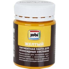 Пигментная паста Jobi для эпоксидных составов 40 мл цвет желтый