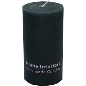 Свеча-столбик «Рустик» 7х13 см цвет тёмно-зелёный