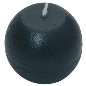 Свеча-шар «Рустик» 6 см цвет тёмно-зелёный