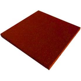 Плитка резиновая Ecogold 500х500х16 мм терракот