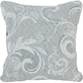 Подушка Milena 40х40 см цвет серый
