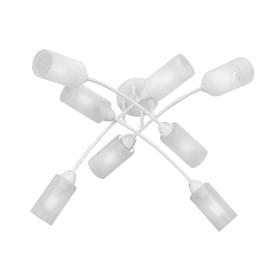 Люстра потолочная «Скарлетт Вайт», 8 ламп, 24 м², цвет белый