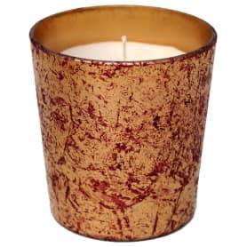 Свеча ароматическая «Rose flower» в стакане, цвет красный