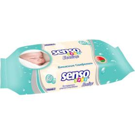 Салфетки влажные для детей «Senso baby Ecoline» 60 шт.