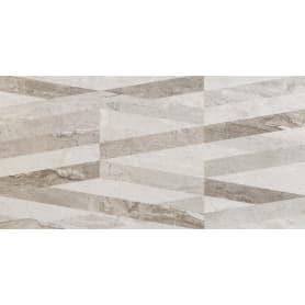 Плитка настенная Marmo Milano Lines 30х60 см 1.144 м² цвет серый