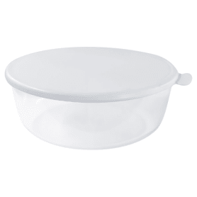 Миска Прованс с крышкой 2.5 л, цвет белый