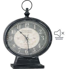 Часы настольные цвет черный 31 см
