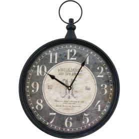 Часы настенные цвет серый 40 см