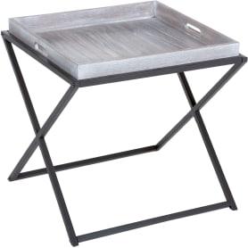 Столик с подносом 48х48х47,5 см каштан
