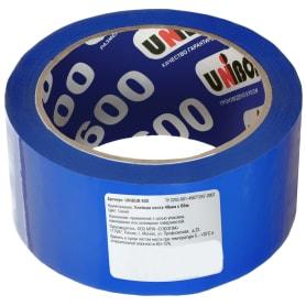 Лента клейкая упаковочная Unibob 48 мм x 66 м, цвет синий