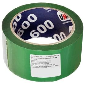 Лента клейкая упаковочная Unibob 48 мм x 66 м, цвет зелёный