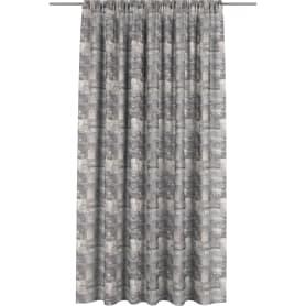Штора на ленте «Лофт» 160x280 см цвет серый