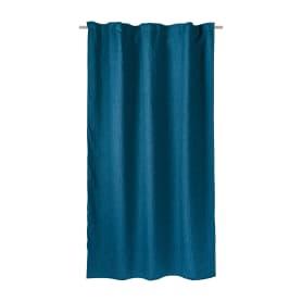 Штора на ленте Nord 160x260 см цвет синий