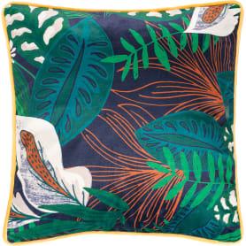 Подушка Shangri La 40x40 см цвет зелёный