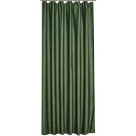 Штора на ленте «Сильвия» 200x260 см цвет зелёный