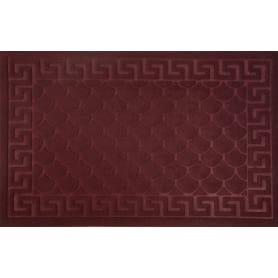 Коврик Inspire Lenzo 50x80 см, полиэфир/резина, цвет бордовый