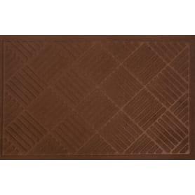 Коврик Inspire Lenzo 50x80 см, полиэфир/резина, цвет коричневый