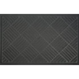 Коврик Inspire Lenzo 50x80 см, полиэфир/резина, цвет тёмно-серый