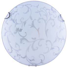Светильник настенно-потолочный «Кружево», 1 лампа, 3 м², цвет белый