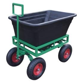 Тележка садовая четырехколесная 150 л/200 кг